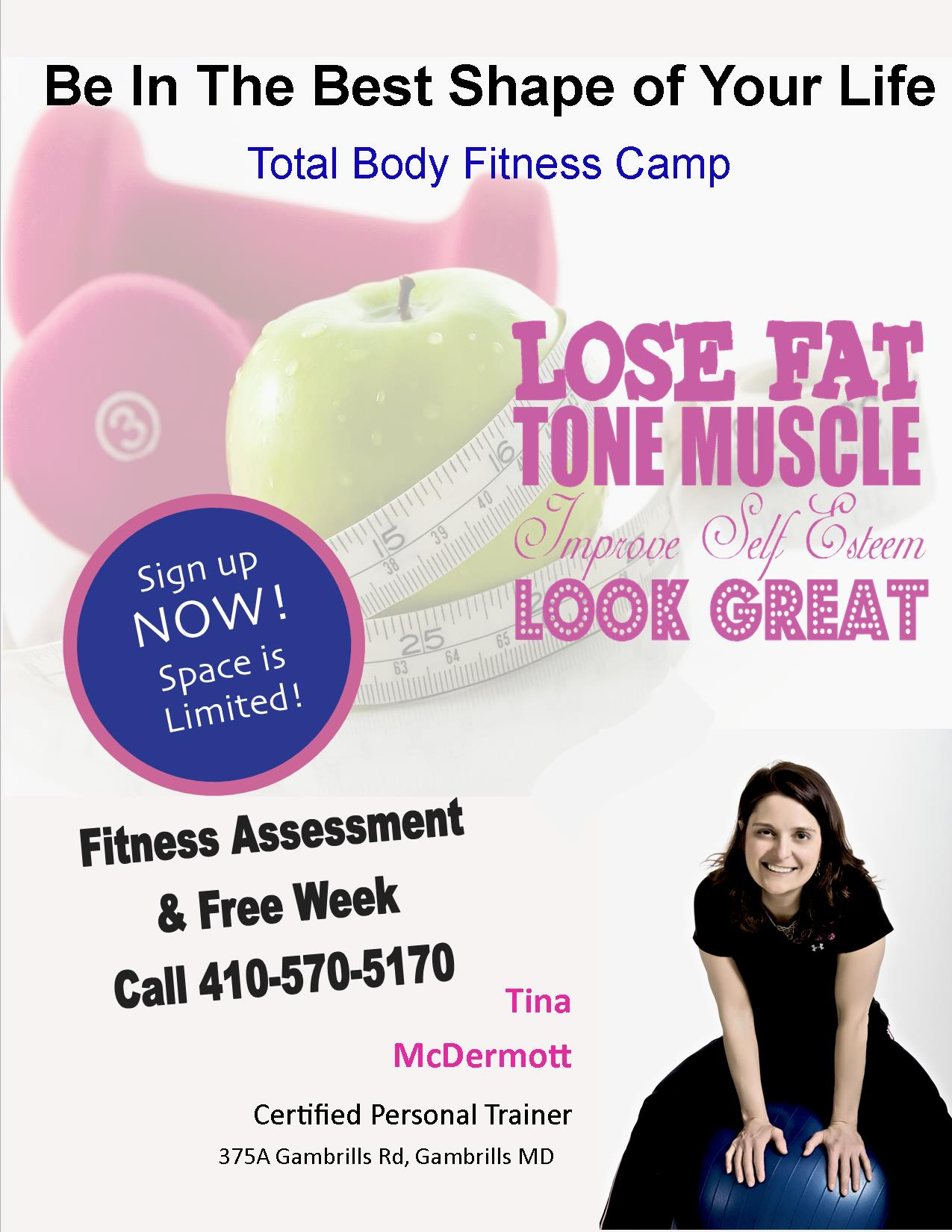 tbfc flyer 2016 tina mcdermott low pressure fitness nutrition