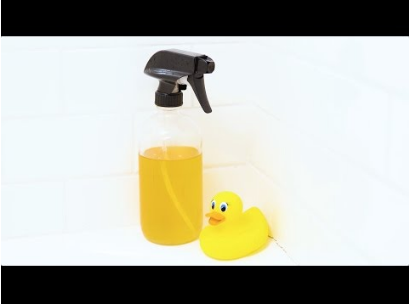 Make Your Own Bathroom Cleaner – Two Ingredients and Non-Toxic