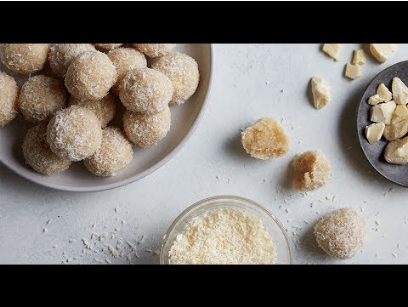 Caramel & Macadamia Nut Bliss Balls Recipe