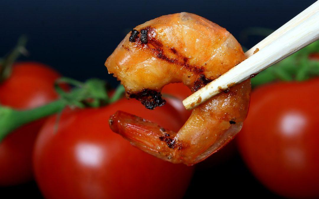 Shrimp Stuffed Tomato